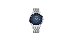 Adriatica 44mm Swiss-Automatic ETA2824 Stainless Steel Blue Dial Glassback