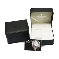 Adriatica Limited Edition Ladies Swiss Made Timepiece - Rose Gold Silver Dial Swarovski Crystals