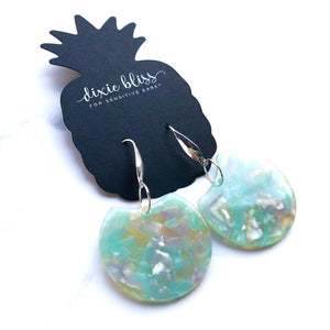 Myrtle in Mint - Dixie Bliss - Dangle Earring