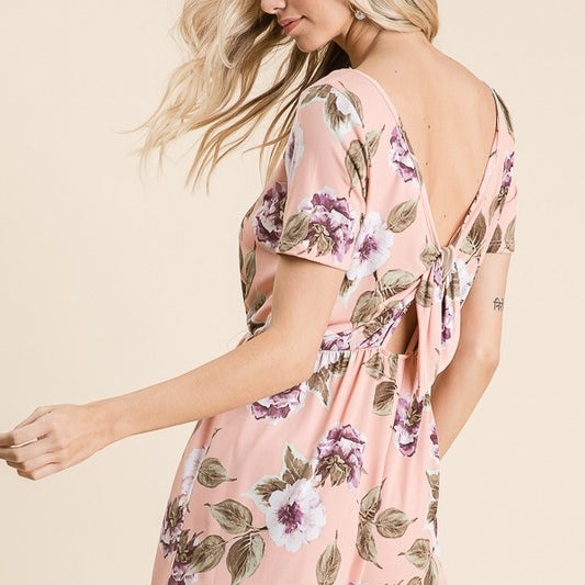 Ella Rose's Back Bow Romper