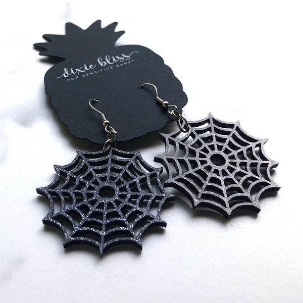 Spider Web Dangles - Dixie Bliss Luxuries