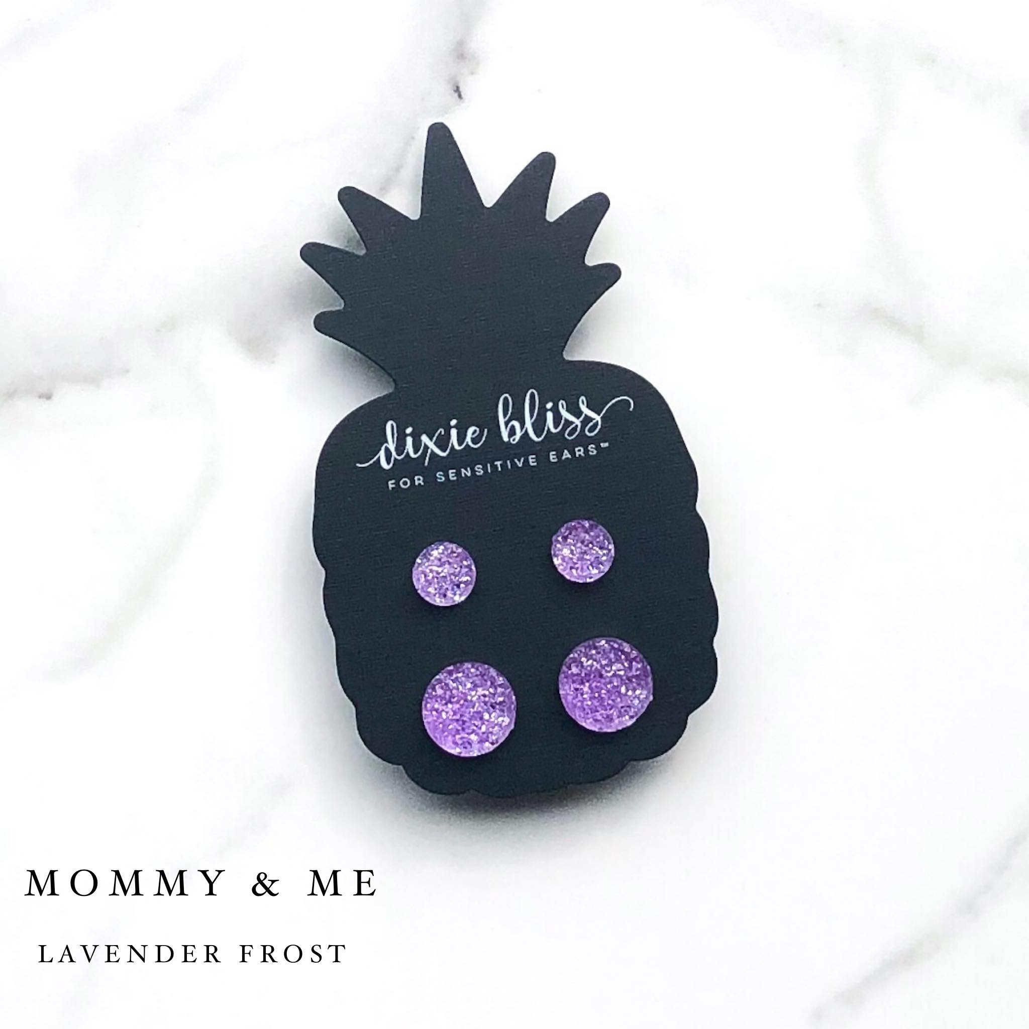 Mommy & Me Lavender - Dixie Bliss - Duo Stud Earring Set