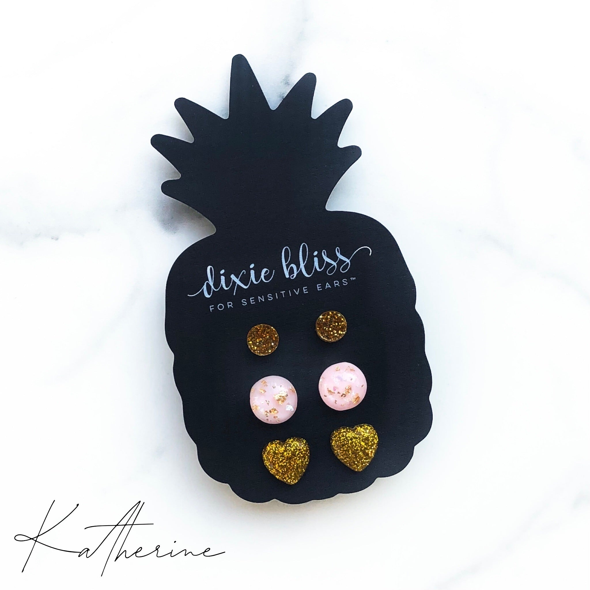Katherine - Dixie Bliss - Trio Stud Earring Set