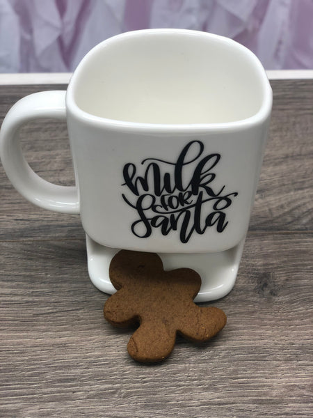 Milk & Cookies For Santa Christmas Mug
