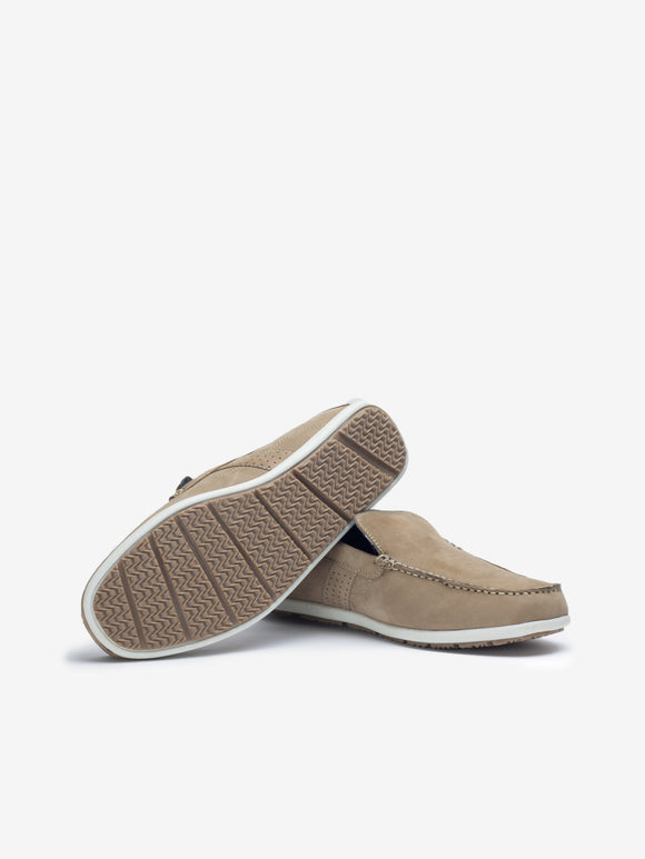 Larrie Sand Basic Loafers