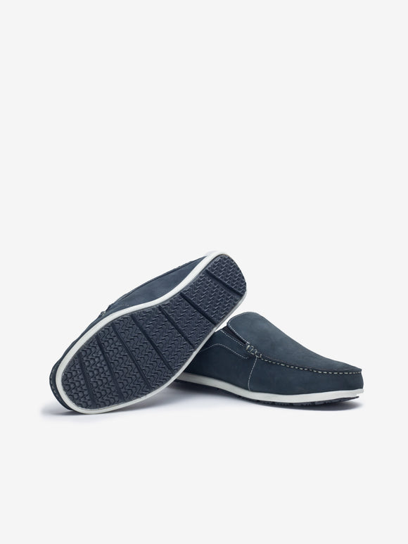 40f6b505a0a0 Larrie Navy Slip On Loafers