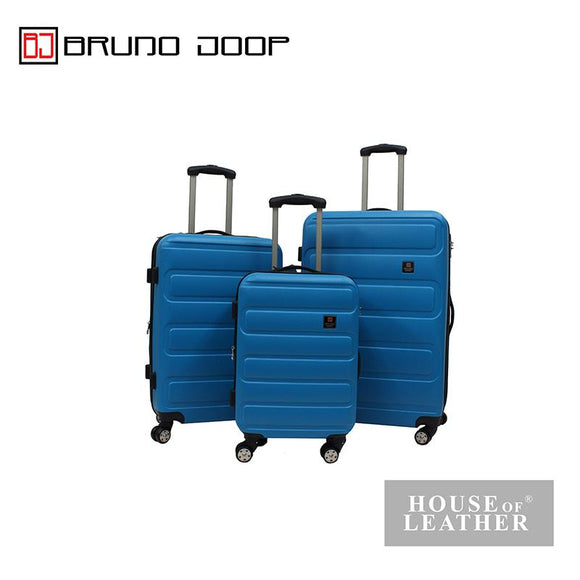 BRUNO JOOP -HAYLEY EXPANDABLE 8 WHEELS SPINNER CASE - BLUE