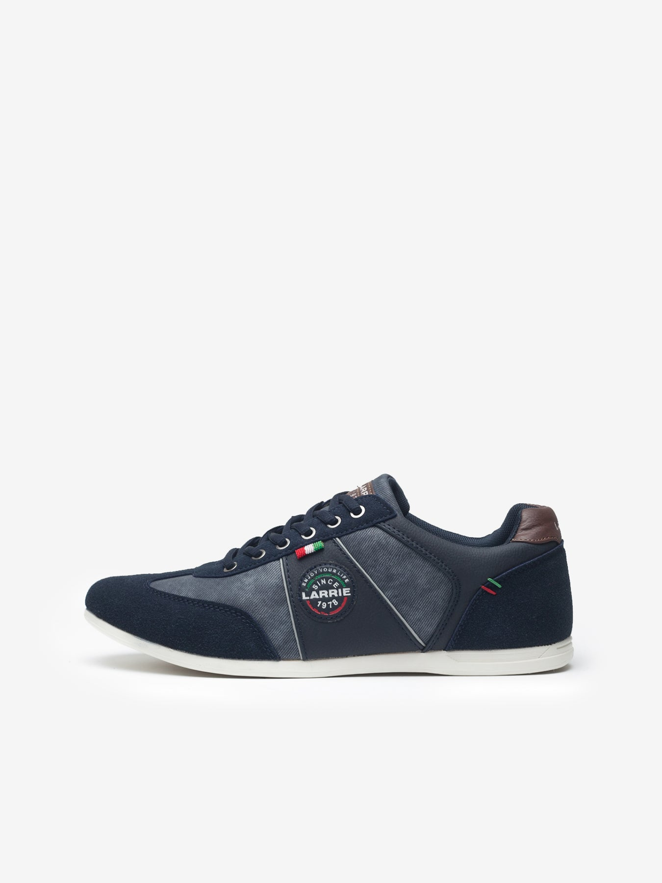 acbb1f6cfe6d Larrie Navy Casual Sneakers - Navy – Luggagehouse2u