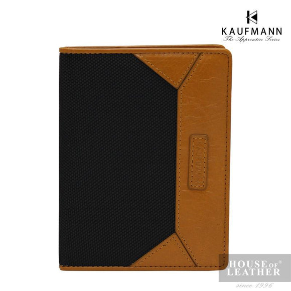 KAUFMANN Royce FM101-28-1590 Passport Holder - Black - Leatherhouse2u  - 1