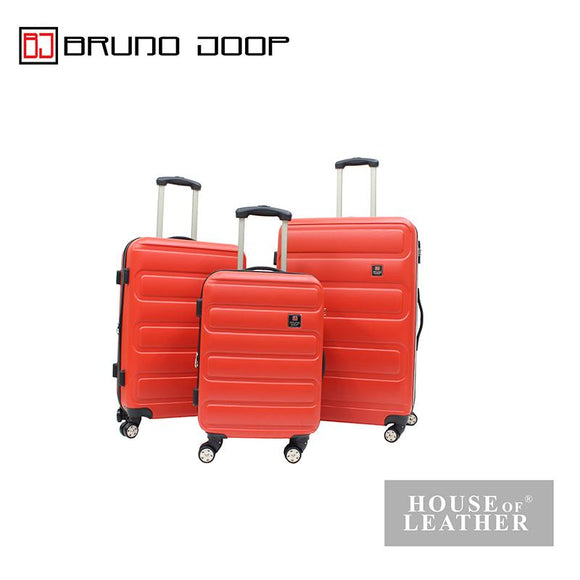 BRUNO JOOP -HAYLEY EXPANDABLE 8 WHEELS SPINNER CASE - ORANGE