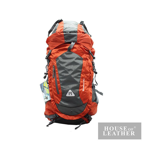 BLUE MOUNTAIN 11006 Hiking Bag 55L - Orange