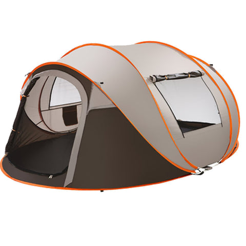 5-6 Persons Fishing Tent Outdoor Camping Hiking Beach Summer Sun Shelter UV Protection Fully Sun Shade Quick Automatic Opening