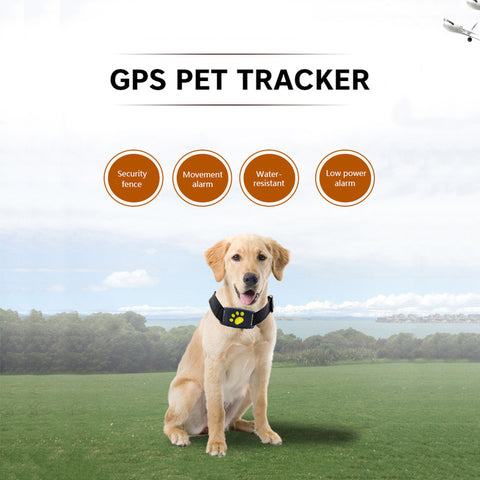 Dog Cat Collar Trackers Finder Callback Equipment Pets Smart GPS Tracker Anti Lost Locator Waterproof Tracer Pet Safety Device