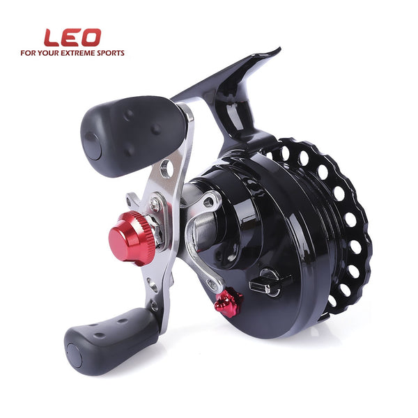 LEO Fly Fishing Reel DWS60 Left hand Right Hand Fishing Reel 4 + 1BB 2.6:1 65MM Fly Fishing Reel Wheel With High Foot