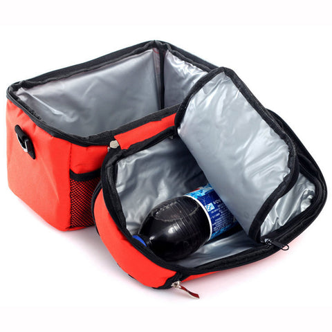 Portable Shoulder Lunch Box Picnic Bag