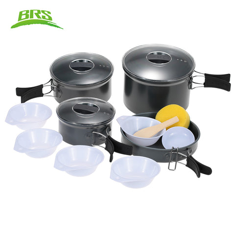 BRS Camping Pot Outdoor Cooking Utensil Pot Sets