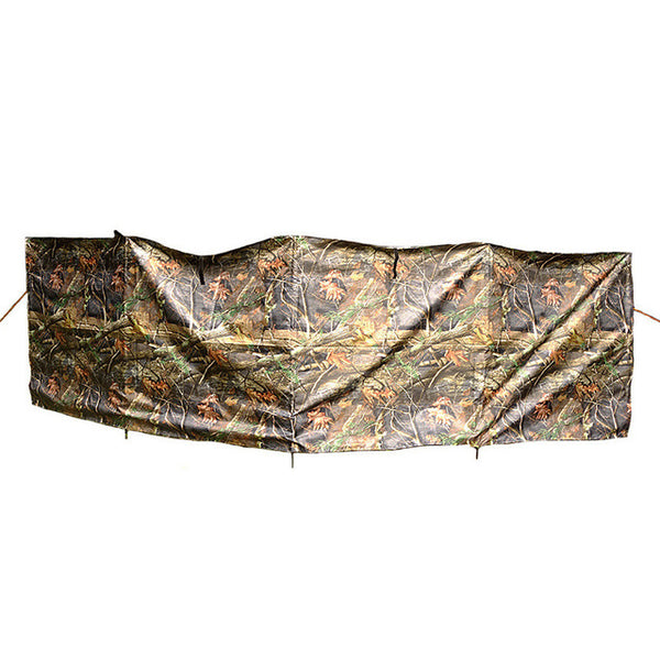 Outdoor camouflage hunting hiding block wind around the cloth