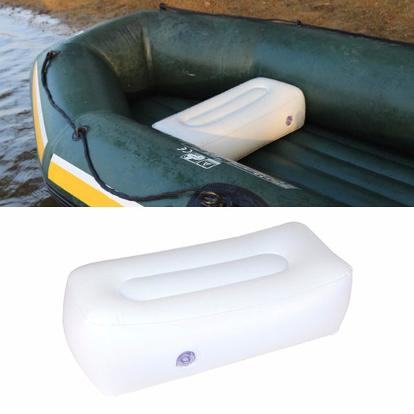 Inflatable boat air cushion for fishing