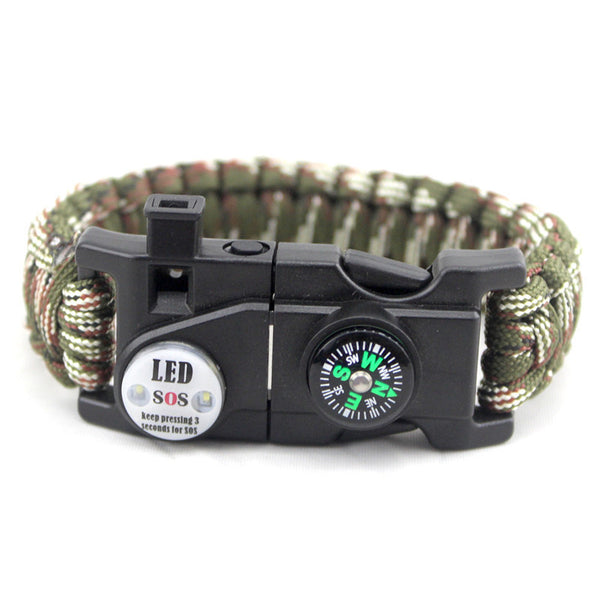 Best Deal Product SOS Bracelet LED Lamp with Compass