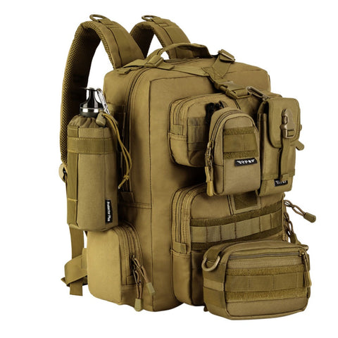 Military Tactical Assault Pack Backpack Army Molle Bug Out Backpack