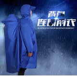 Outdoor Raincoats Backpack