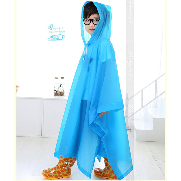 Translucent Non-disposable Rain Coat