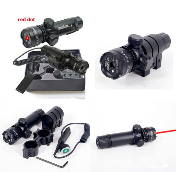 Red Dot Laser Sight Quick Detach 20mm Scope Mount Picatinny Weaver Rails