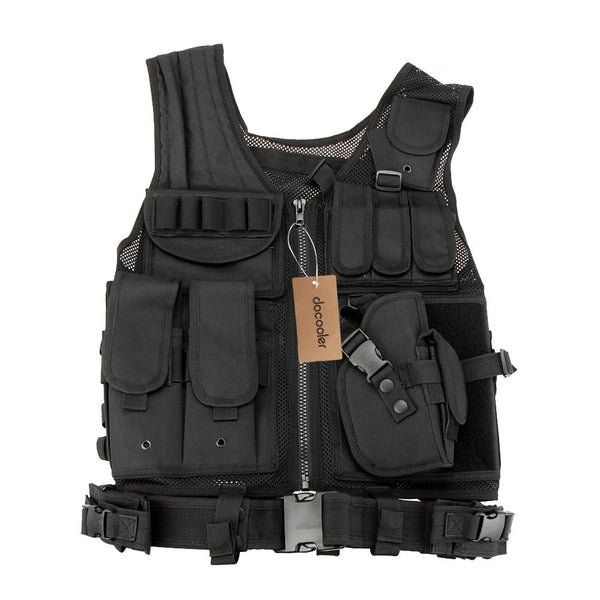 Men CS Molle Armor Camouflage Vest Outdoor Military Tactical Vest Army Tactical Hunting Vest Body Outdoor Jungle