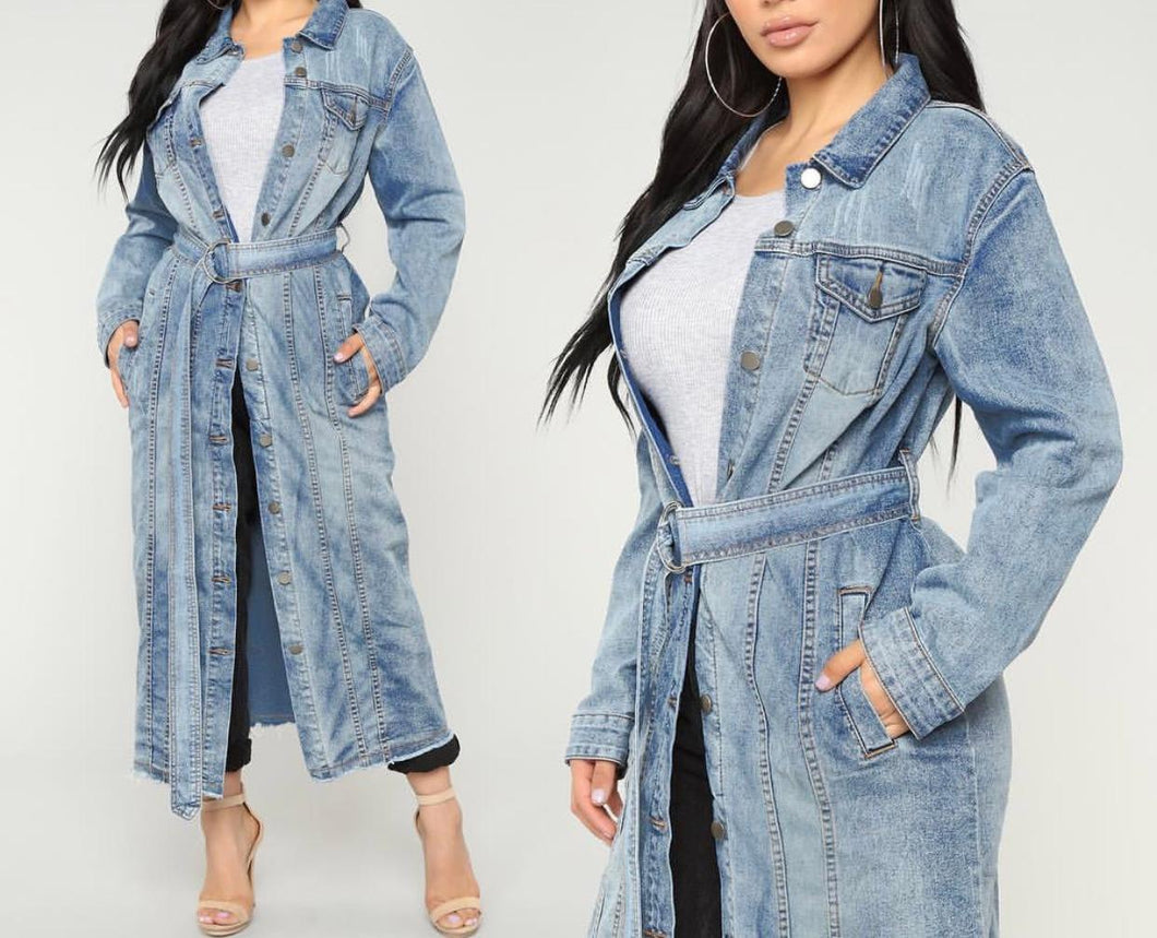 Blaze | Denim Trench