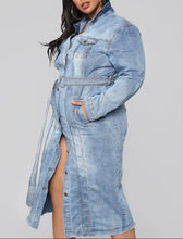 Load image into Gallery viewer, Blaze | Denim Trench