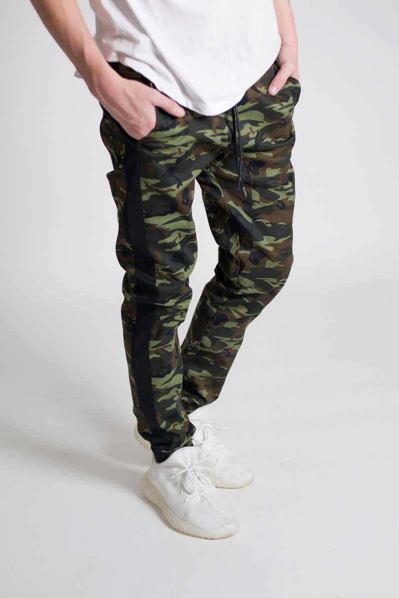 Attention | Camo Joggers