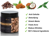 Load image into Gallery viewer, Pure Arabica Coffee Scrub Best for Stretch Mark, Acne & Anti Cellulite Treatment