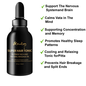 Glamology Super Hair Tonic with 24 Herbs and Oils