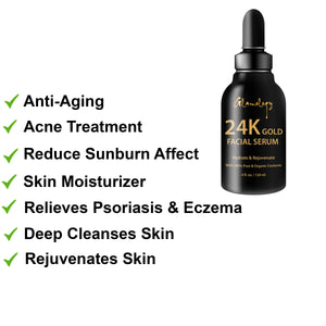 Glamology Rejuvenating 24 Karat Gold Face Serum