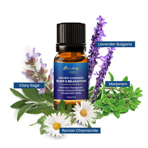 Ayurvedic Good Sleep at Night Essential Oil Relaxation Stress Anxiety