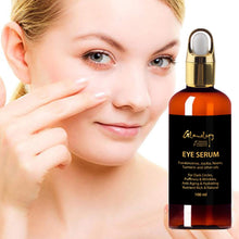 Load image into Gallery viewer, Eye Serum for Dark Circles, Puffiness, Wrinkles and Bags Under and Around Eyes 100Ml