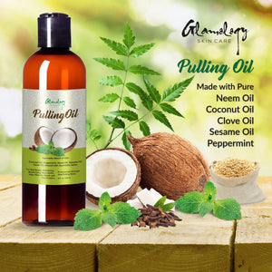 Organic Pulling oil with Coconut, Neem & Clove