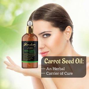 CARROT SEED OIL 100% Natural Cold Pressed Carrier Oil Skin, Body, Hair