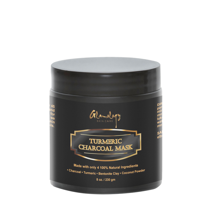 Rejuvenating Turmeric Charcoal Facial Mud Mask