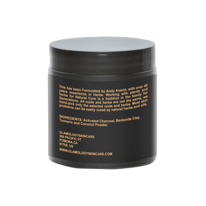 Detoxifying Turmeric Charcoal Mud Mask (8 oz.)