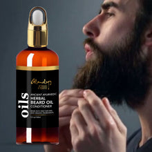 Load image into Gallery viewer, Ayurvedic Beard Oil Conditioner Softens & Strengthens