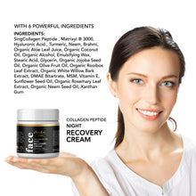 Load image into Gallery viewer, Herbal Facial Night Cream to Smooth Wrinkles, Skin Renewing