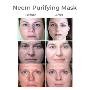 Matcha Purifying Face Mask, with Neem & Turmeric
