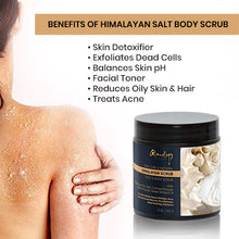 Load image into Gallery viewer, Glamology Pure Himalayan Salt Body Scrub Infused With Natural Herbs