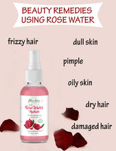Load image into Gallery viewer, Rose Water Hydrate Face Spray with Saffron And Argan Oil