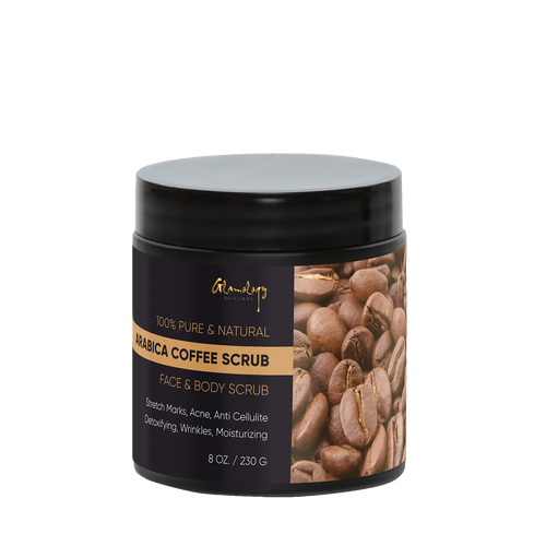 Pure Arabica Coffee Scrub Best for Stretch Mark, Acne & Anti Cellulite Treatment