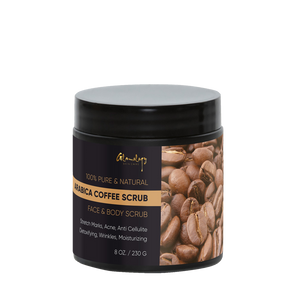 Pure Coffee Body Scrub For Stretch Mark Acne & Anti Cellulite