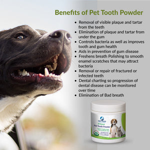 Fluoride Free Tooth Whitener with Clove, Peppermint & Herbs