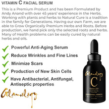 Load image into Gallery viewer, Glamology Premier ORGANIC Vitamin C 20% Serum with Hyaluronic Acid
