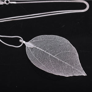 Custom Natural Leaf Necklaces